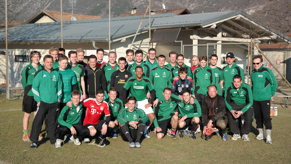 Fußball Trainingslager Kurtinig 2015